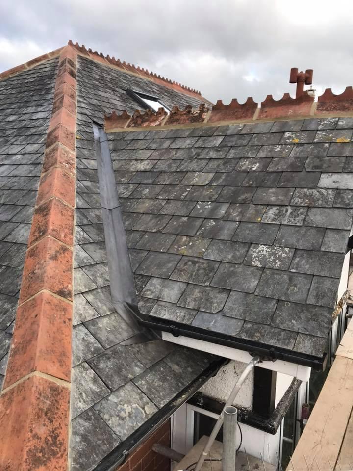 Reclaimed French Slate Roof Newton Abbot South Devon