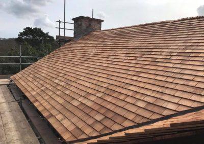 Cedar Shingle Roof, Devon