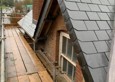 Re roof project, Kingskerswell