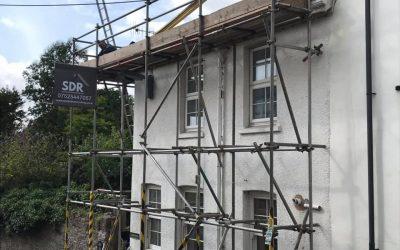 Welsh Slate Re Roof: Chagford