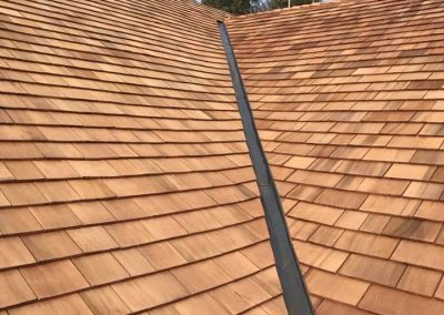 Cedar Shingle Roof, Devon