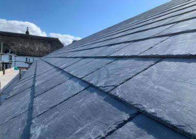 Natural Slate Roof, Ogwell