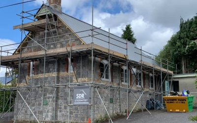 Complete re roof project: Teigngrace Village Hall