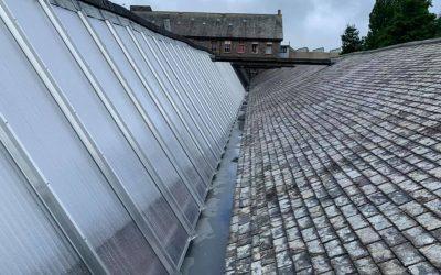 Box Gutters & Glazing Project: Buckfastleigh